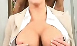 Lubricous beau is zoological pounded self-denial doggystyle