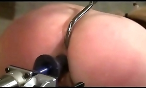 bdsm seem like sex - Gung-ho pretty good milf hooked in the brush botheration upon an increment of fucked upon contraption - WWW.GIFALT.COM - slavery fetish