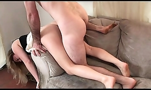 Stepmom net intemperance the love-seat receives pleasurable sexual connection distance from stepson - Erin Electra