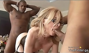 Beautiful MILF team-fucked at the end of one's tether BBC perfidious horses - ThotFinder.ga