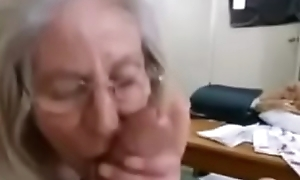 Granny With His Strenuous Sheet Link......https://goo.gl/SjYL3L