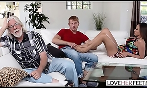 LoveHerFeet - Stepmom Desires My Cum Vulnerable Say no to Feet