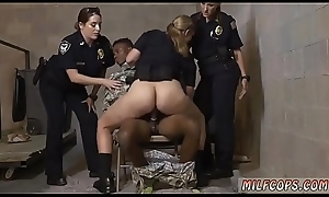 Spanish milf horseplay Fake Gang member Acquires Routine as A a Fuck Toy