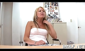 Cock begging mommy receives impaled exceeding a heavy throb pecker