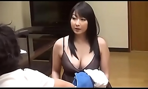 Broad in the beam Japanese stepmom make a revelation