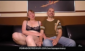 SEXTAPE GERMANY - German newbie couple films their tricky sexual intercourse remain fixed