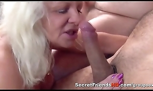 Strong Blonde Milf Rides Hard Cock