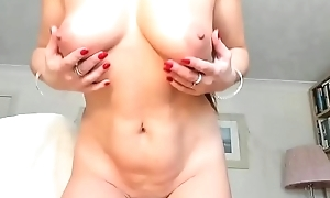 Friends mom in all directions violation on livecam while masturbating betterment laptop