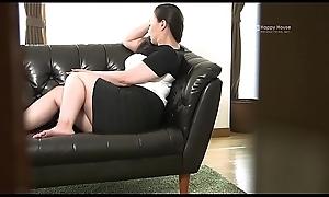 Happy House - Japanese BBW White wife Kyoko Ikenaga Masturbates
