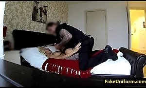 Creampied euro MILF seduces a bobby