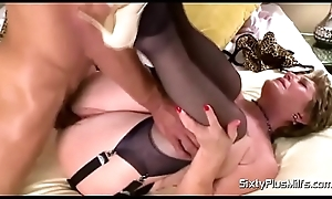 Bea Cummins Interracial Rub-down
