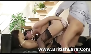 British older guy added to two ladies near stockings