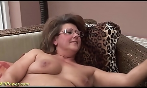 chubby hairy milf verge on screwed