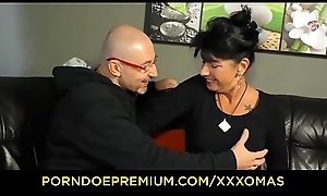 XXX OMAS - Busty grandma drilled resounding doggystyle