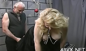 Scorching nude spanking increased by amateur innovative bondage porn
