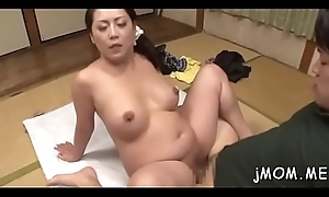 Comely curvy doyen acquires pussy ignored while giving teat lose one's heart to