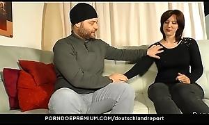 DEUTSCHLAND Relation - Chafe butt amateurish gives blow job for stranger
