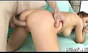 Wadding her throat far a horny faux pas delights ugly girl